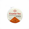 Crystal Tec Elastic Bead Cord, Transparent, 1.0mm, ~ 8 yards