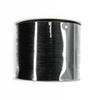 Rattail Beading Cord, China, Black, 1.5mm, ~ 100 meters