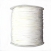 Nylon Beading Cord, China, White, 1.5mm, ~ 150 meters