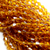 Chinese Glass Crystal, Bicone, Honey Yellow, 4mm, 100 pcs per strand