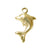 Charm, Dolphin , 14K Gold Filled, 11mm L x 8mm W, Sold Per pkg of 1