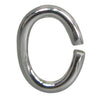 Jump Rings, Oval, Sterling Silver, 5mm x 0.7mm, 4 pcs