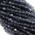 Chinese Glass Crystal, Bicone, Oxford Blue, 4mm, 100 pcs per strand