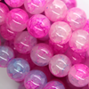 Marble Style Glass Beads, Pale Purple Pink, 10mm  - 1mm (hole), 85 pcs per strand