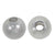 Bead, Sterling Silver, Round Shiny Ball - 8mm/3mm hole - 2pc