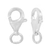 Clasp, Lobster Clasp, Sterling Silver, 13mm L, 1pc