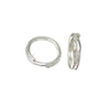 Split Rings, Sterling Silver, 5mm/1mm, Sold Per pkg of 4