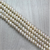 Fresh Water Pearls, Off White, 7mm - 1mm (hole), 65 pcs per strand