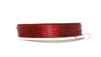 Tiger Tail, Red, 0.38mm, ~ 100 meters