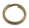 Round Split Ring, 14K Gold Filled, 6mm, 1pc