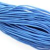 Elastic Nylon Beading Cord, China, Sapphire Blue, 1.0mm, ~ 20 yards