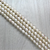 Fresh Water Pearls, Off White, 6.5mm - 1mm (hole), 62 pcs per strand