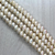Fresh Water Pearls, Off White, 10mm - 1mm (hole), 45 pcs per strand