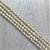 Fresh Water Pearls, Off White, 4mm x 3mm - 1mm (hole), 74 pcs per strand