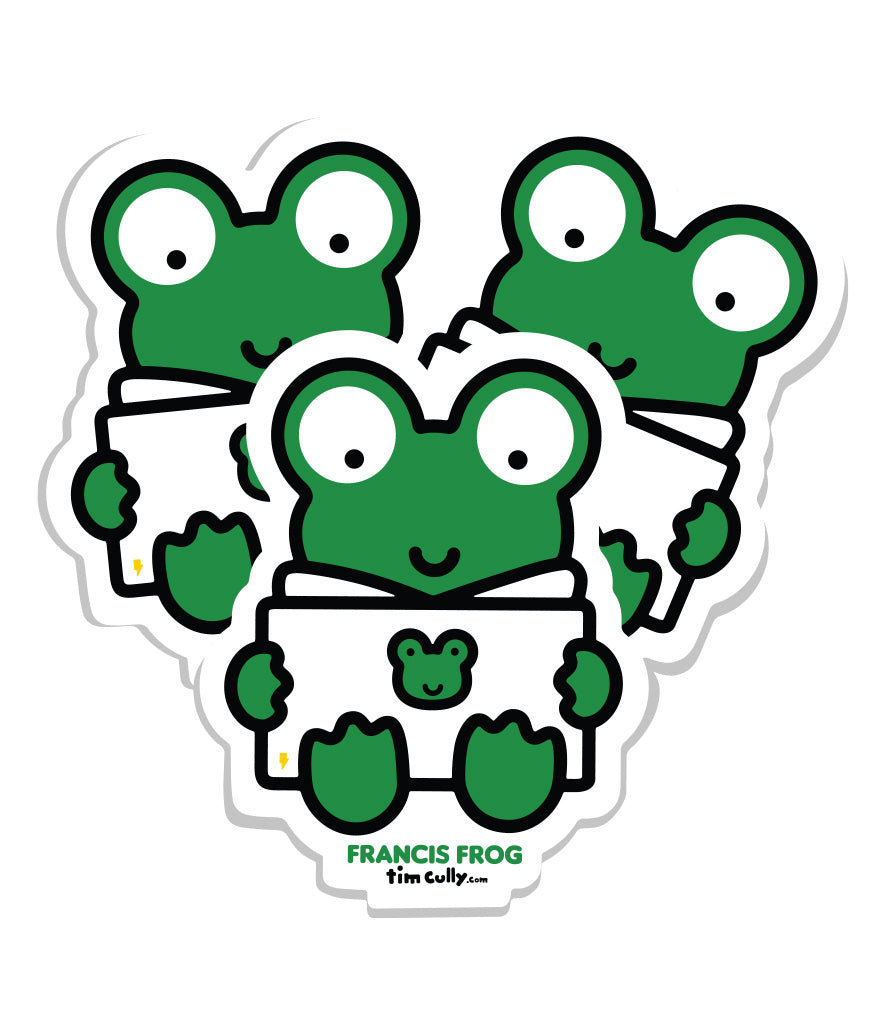 Francis Frog Stickers