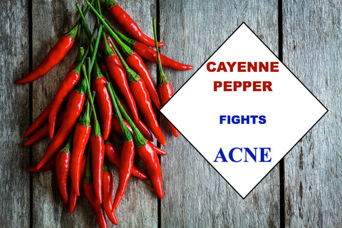 Cayenne Pepper in Organic Skincare Can Cure Acne
