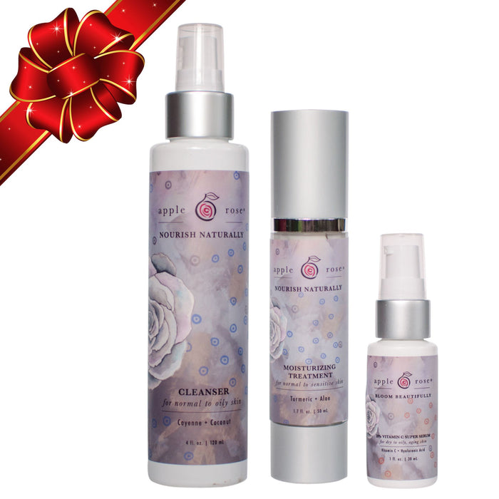 Freedom Skin Care Essentials Set from Apple Rose Beauty natural and organic skin care and organic beauty