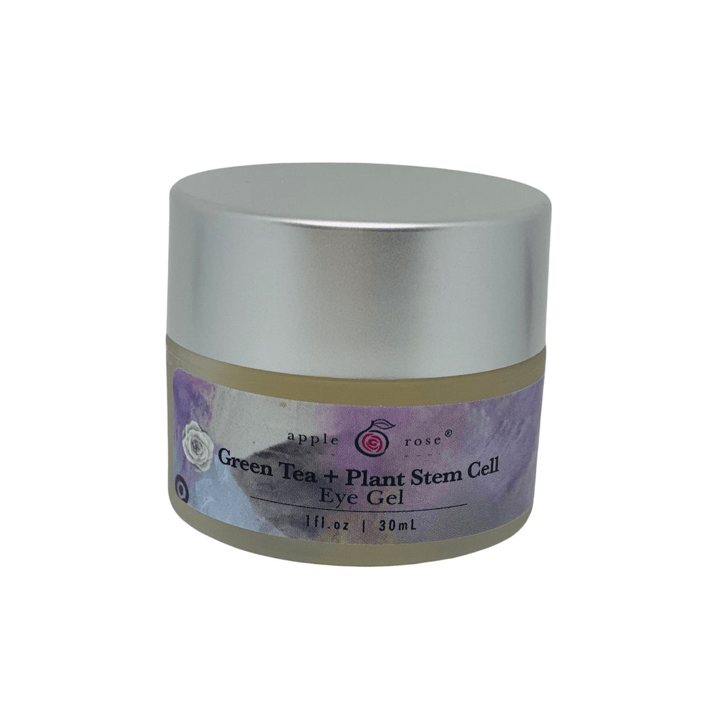 Green Tea + Plant Stem Cell Eye Gel from Apple Rose Beauty natural and organic skin care and organic beauty