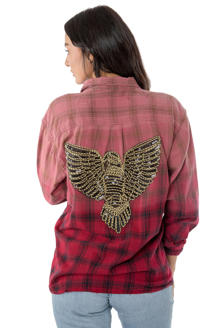 Gold Eagle Flannel