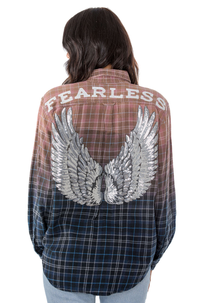Fearless Wing Back Flannel