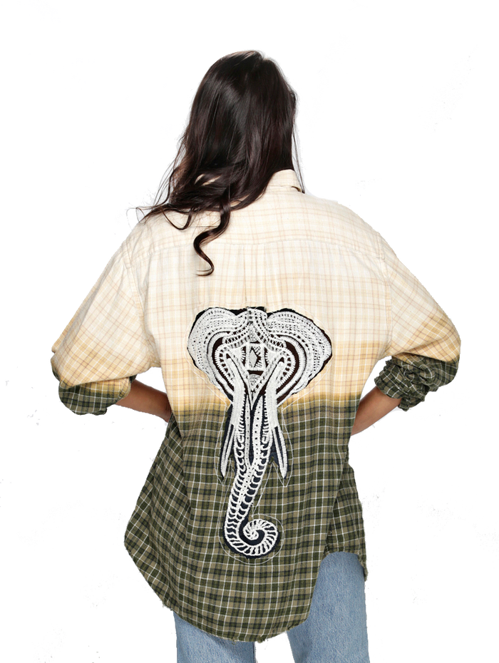 Elephant Flannel