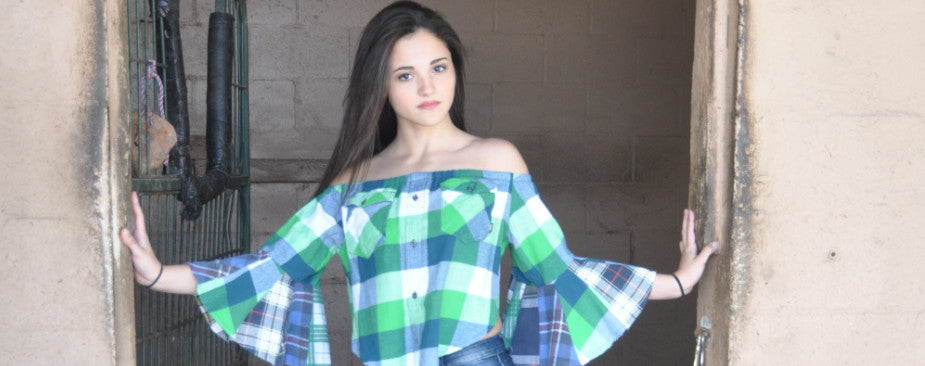 Boho Flannel by Vintage with Lisa