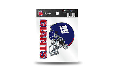 NFL New York Giants NY Static Window Cling Sticker Team Logo Decal
