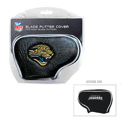 NFL Jacksonville Jaguars Blade Putter Cover Golf Headcover Course Club Bag