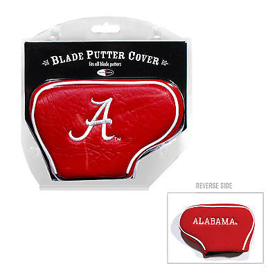 NCAA Alabama Crimson Tide Blade Putter Cover Golf Headcover Course Club Bag