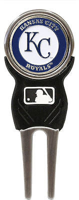 MLB Kansas City Royals Signature Golf Divot Tool and Ball Marker Enamel Team