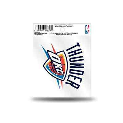 MLB Oklahoma City Thunder OKC Static Window Cling Sticker Team Logo Decal