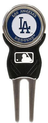 MLB BLos Angeles Dodgers Signature Golf Divot Tool and Ball Marker Enamel Team