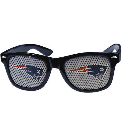 NFL New England Patriots Gameday Wayfarer Glasses Team Logo Series Sunglasses