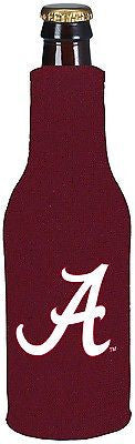 NCAA Alabama Jersey Bottle Coozie Suit Neoprene Cooler Koozie Zippered