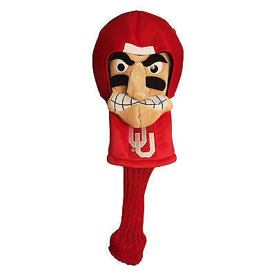 NCAA Oklahoma Sooners Mascot Golf Headcover Driver Club Jumbo Animal Head Cover