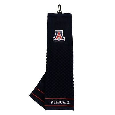 "NCAA Arizona Wildcats Golf Towel Embroidered Tri-Fold 16"" x 25"" Club Bag"