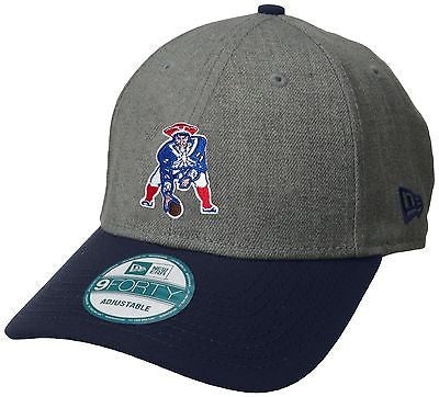 "NFL New England Patriots ""The League"" 9forty Historic Gray Hat New Era 940 Cap"