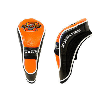NCAA Oklahoma State Cowboys Hybrid Golf Headcover Course Club Cover Utility Bag
