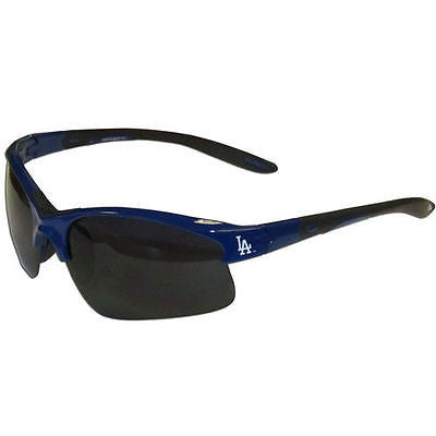 MLB Los Angeles Dodgers Blade Sunglasses Wing Team Logo Sport Style Tailgate