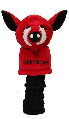 NCAA Arkansas Razorbacks Mascot Golf Headcover Driver Club Jumbo Head Cover