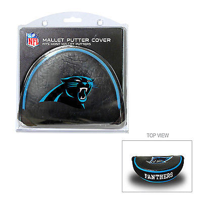 NFL Carolina Panthers Mallet Putter Cover Golf Headcover Course Club Bag