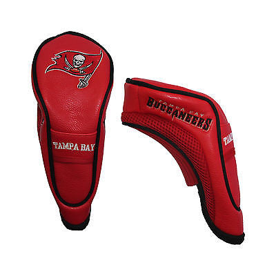 NFL Tampa Bay Buccaneers Hybrid Golf Headcover Course Club Cover Utility Bag