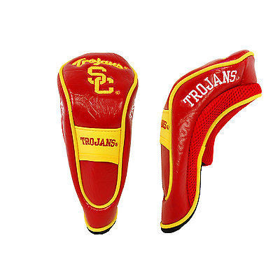 NCAA USC Trojans Hybrid Golf Headcover Course Club Cover Utility Bag