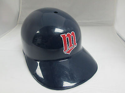 MLB Minnesota Twins Baseball Blue Full Size Batting Helmet Toy Costume Hat Cap