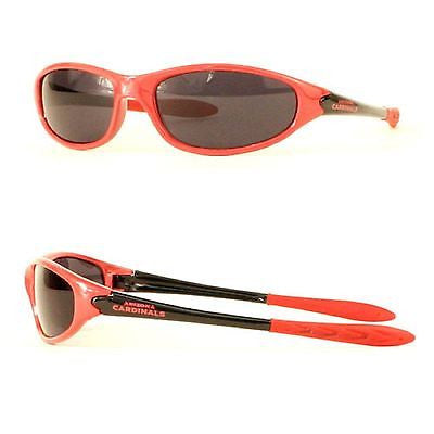 NFL Arizona Cardinals 2 Tone Wrap Sunglasses Team Logo Series Sport Style
