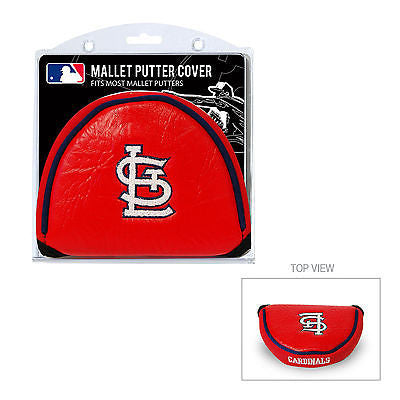 MLB St Louis Cardinals Mallet Putter Cover Golf Headcover Course Club Bag