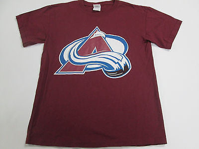 NHL Colorado Avalanche Ice Hockey Red T-Shirt Team Shirt 18