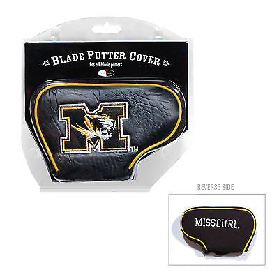 NCAA Missouri Tigers Blade Putter Cover Golf Headcover Course Club Bag