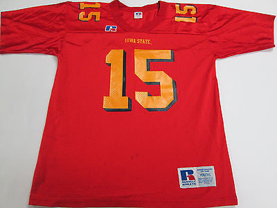 NCAA Iowa State Cyclones Red #15 Youth Kids Football Jersey Shirt 9