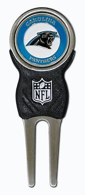 NFL Carolina Panthers Signature Golf Divot Tool and Ball Marker Enamel Team Logo